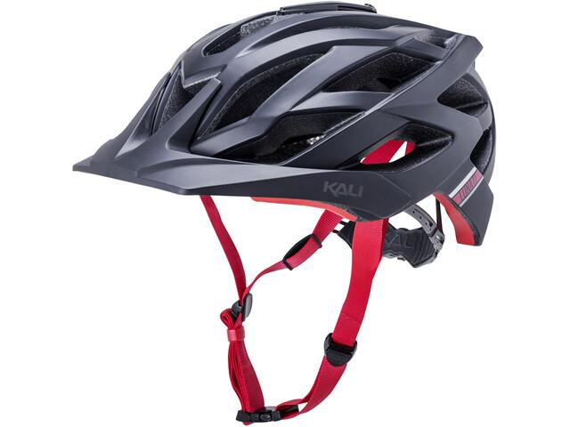 Kali Lunati Sync Helm matt black/red